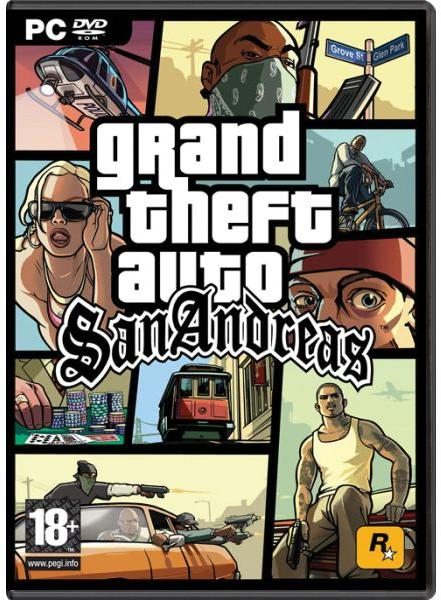 Rockstar Games Grand Theft Auto: San Andreas (PC)