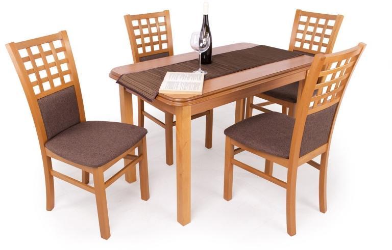 Vásárlás: Divian Kármen étkező garnitúra 4+1 calvados színben ...