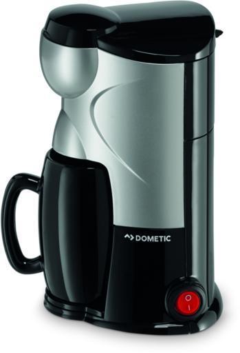 Dometic MC 01 12 V Mobil Kávéfőző Fekete Ezüst