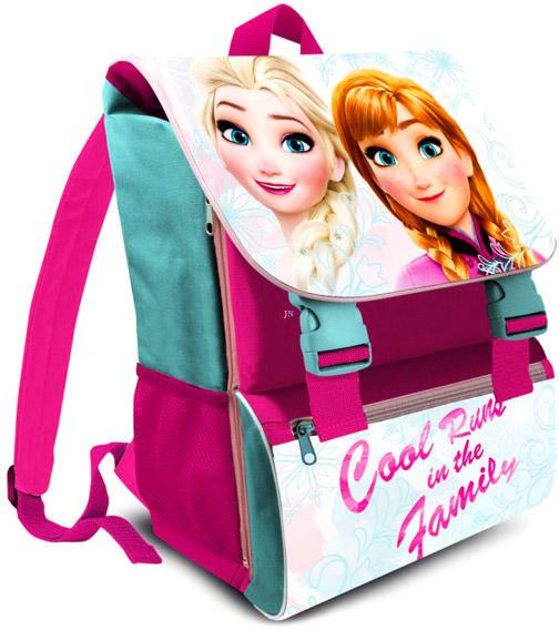 Kids Euroswan Disney hercegnők  Jégvarázs - kék-lila iskolatáska  (PQ-FR17122) 72721ee08b