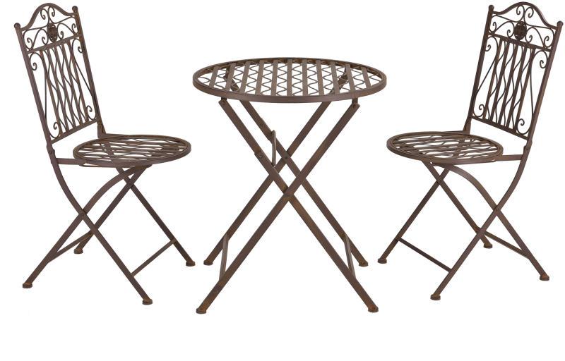 fém kerti szék asztallal