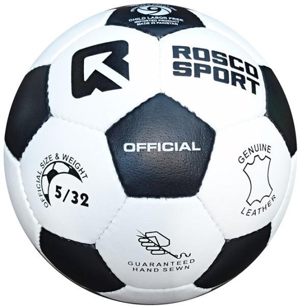 Vásárlás  Rosco Official bőr focilabda Focilabda árak ... 601bd51ba8