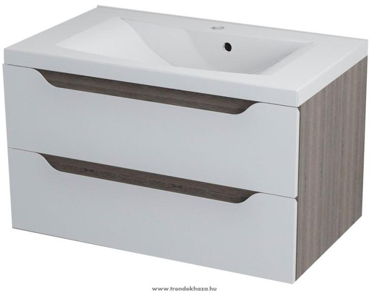 Vásárlás: SAPHO Wave II mosdótartó szekrény WA080 Fürdőszoba bútor árak összehasonlítása, Wave ...
