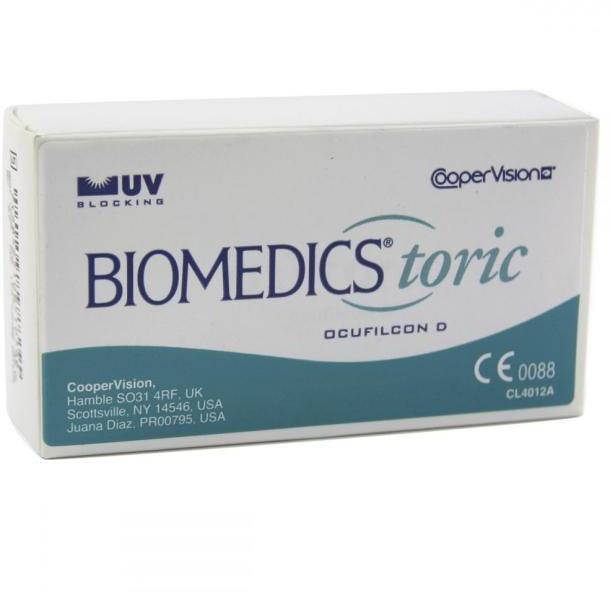 CooperVision Biomedics Toric (3) - Havi kontaktlencse vásárlás ... 8fe2205d73