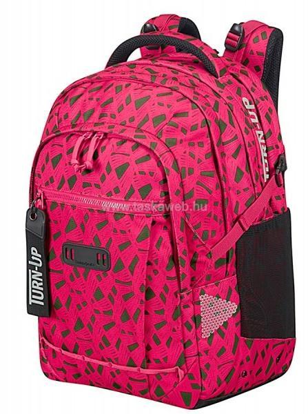 6e62f2d864 Vásárlás: Samsonite TURN-UP pink-zöld mintás nagy hátizsák L 15-16 ...
