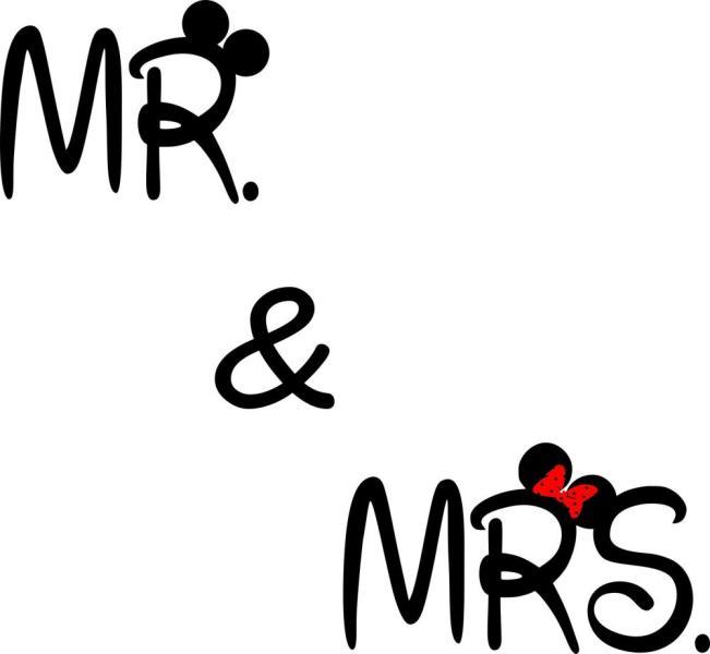 a70adb4740 Vásárlás: Mr & Mrs (2 színű) - falmatrica Falmatrica árak ...