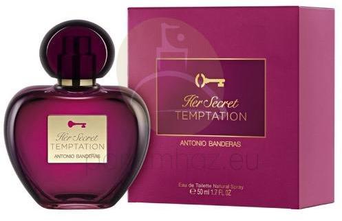 Antonio Banderas Her Secret Temptation Edt 50ml Parfüm Vásárlás