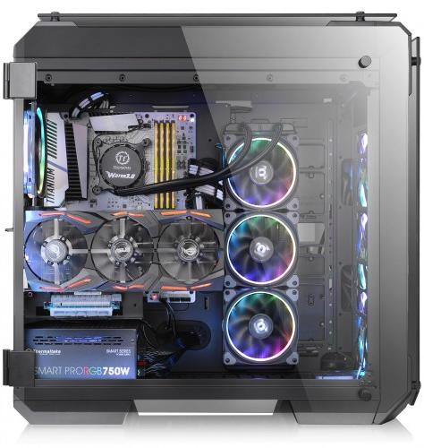 Thermaltake View 71 Tempered Glass Edition Ca 1i7 00f1wn