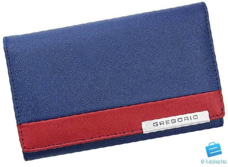 Vásárlás  Gregorio Kék + Piros Valódi bőr Pénztárca (h FRZ-112 355 1 ... 5b368a76eb