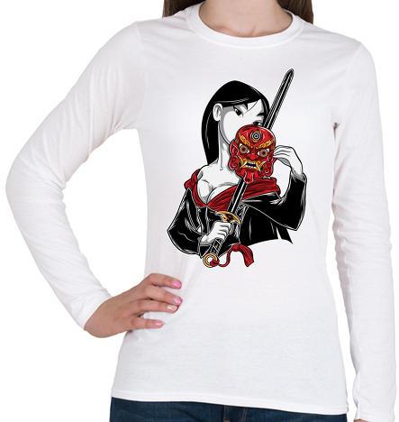 c56e511ff4 Vásárlás: printfashion Kínai hercegnő - Női hosszú ujjú póló - Fehér ...
