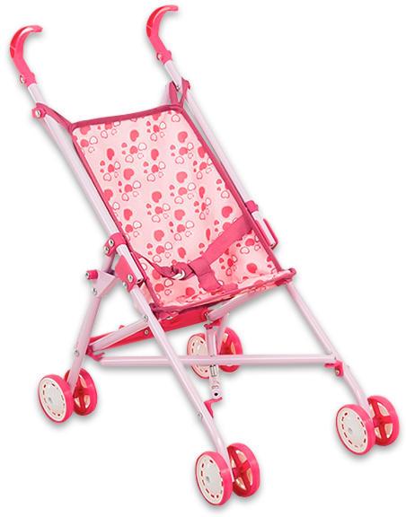 Vásárlás  Rózsaszín játék babakocsi - kétféle mintával (VE-H-7635376 ... aade76422f
