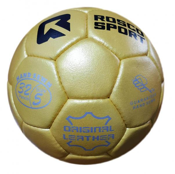 Vásárlás  Rosco Gold bőr focilabda Focilabda árak összehasonlítása ... 0f35cb1073