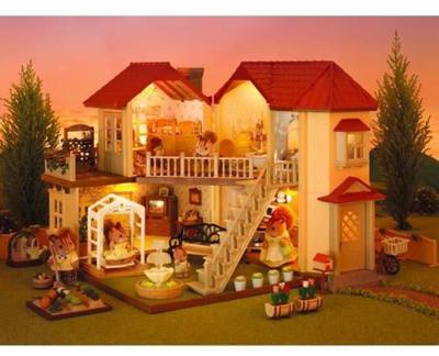 c6a6fef4a749 Vásárlás: EPOCH Sylvanian Families Ház Világítással Babaház árak ...
