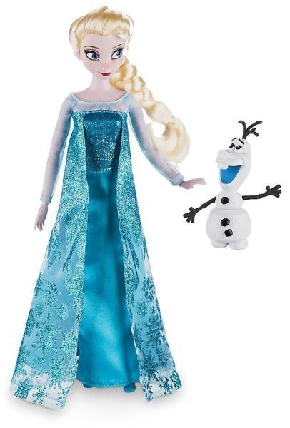 super dragut pre-comanda secțiune specială Disney Elsa si Olaf din Frozen (570508) (Papusa) - Preturi