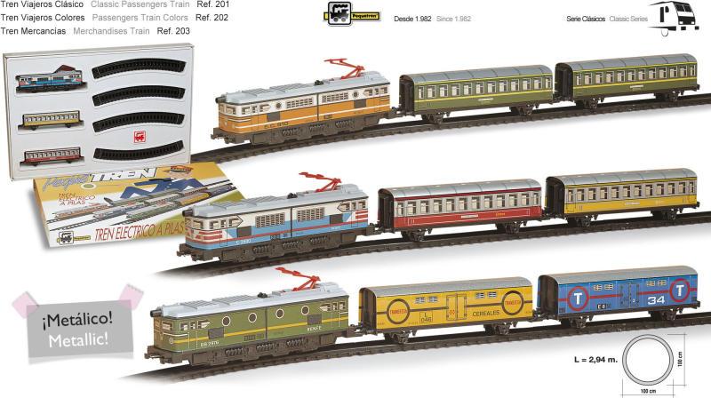 Set Trenulet Electric Calatori Colorat Se8412514002029