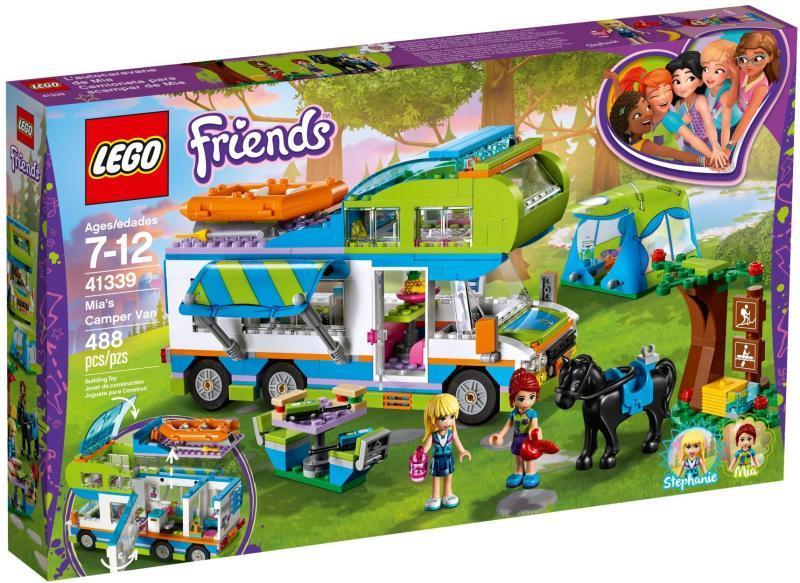 04acab1ba0eb Vásárlás: LEGO Friends - Mia lakókocsija (41339) LEGO árak ...