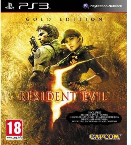 Capcom Resident Evil 5. Gold Edition (PS3)