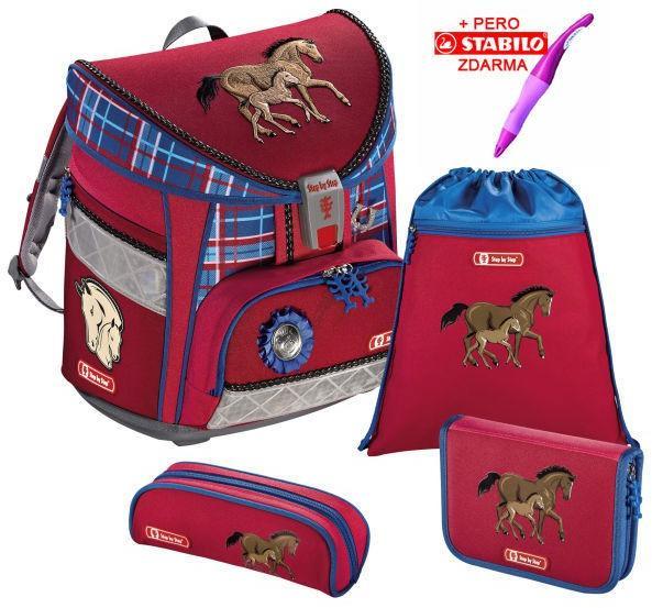 7823a4f77dd3 Hama Iskola táska Hama Step by Step Light lovas szett + Stabilo toll és  szállítás ingyenes