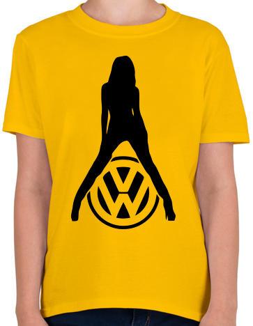 aacaf3d94b Vásárlás: printfashion Volkswagen fan - Gyerek póló - Sárga Gyerek ...