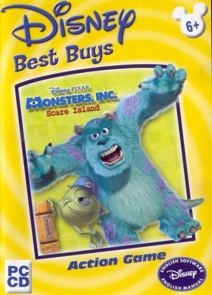 monsters inc scare island pc