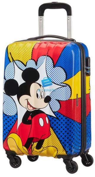 American Tourister Disney Legends Mickey Flash Pop spinner bőrönd 55cm-es 7173e4da1a