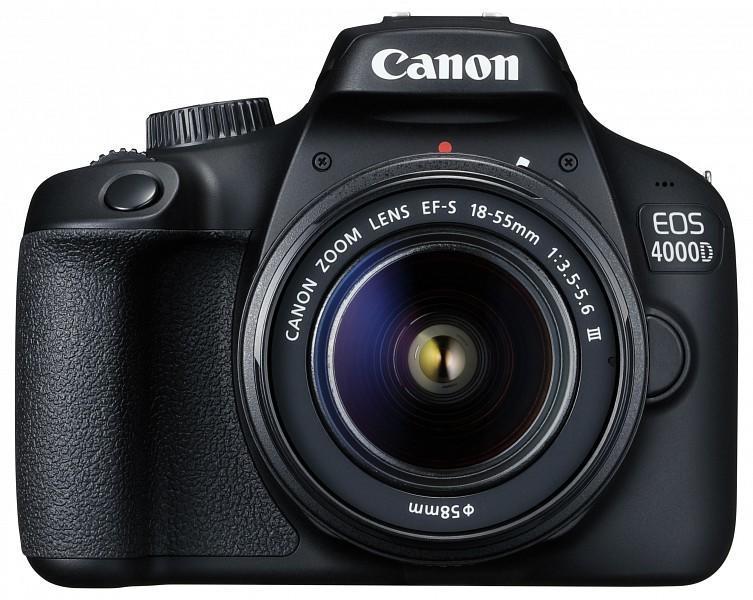 03f1e1512943 Canon EOS 4000D + EF-S 18-55mm III Digitális fényképezőgép