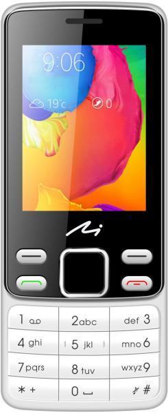 Navon Classic M Mobiltelefon, Kártyafüggetlen, Dual SIM, EzüstFekete