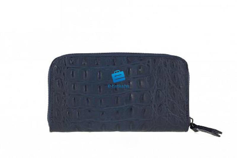 cb29407e7965 Vásárlás: Euroline Valódi bőr női pénztárca (P517_Blue) Pénztárca ...