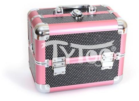 Vásárlás  TyToo Kicsi kozmetikai bőrönd Rózsaszín-fekete Kozmetikai ... 33e5943621