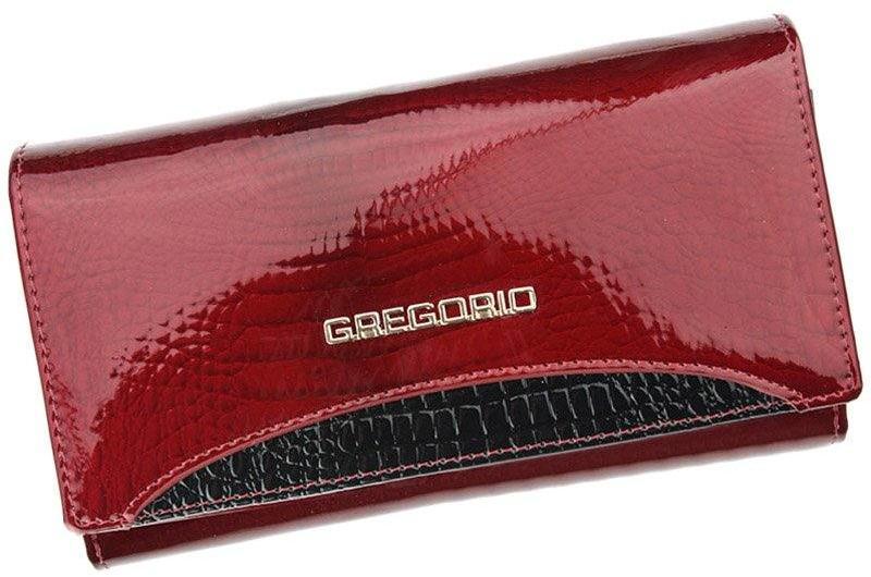 Vásárlás  Gregorio piros Valódi bőr Pénztárca (h GP-114 3 1 ... 0321e546d5