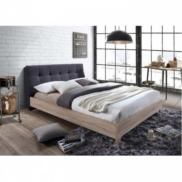 Vásárlás  Tempo Kondela Loran ágy ágyráccsal 160x200cm Ágy ... b6350451a7
