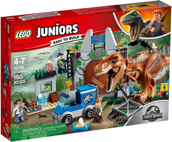 Vásárlás  LEGO Juniors T Rex Kitörés 10758 LEGO árak ... 244609d10e