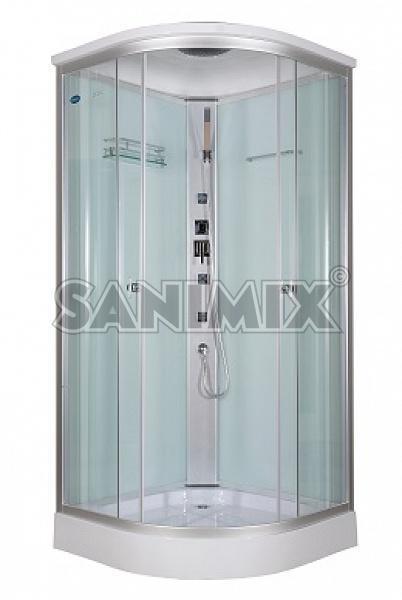 Sanimix 22.1032 90x90 negyedköríves hidromasszázs