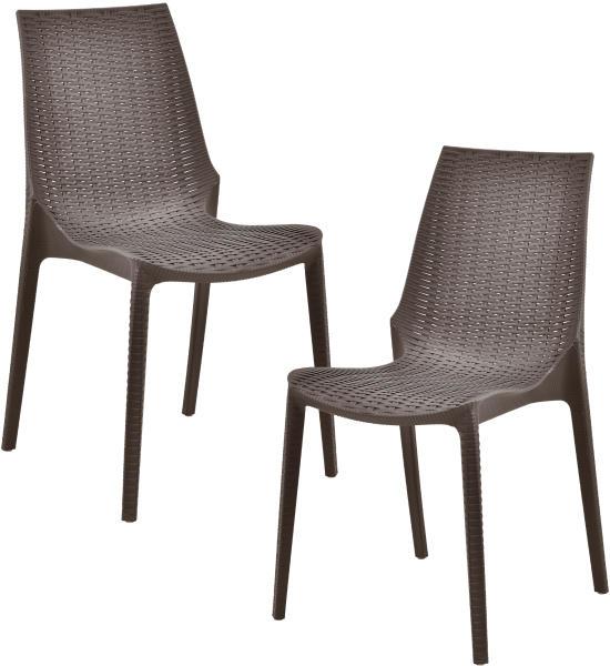 kerti rattan hatású szék
