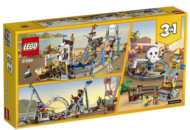 Vásárlás  LEGO Kalózos hullámvasút 31084 LEGO árak ... a8b57d47e2