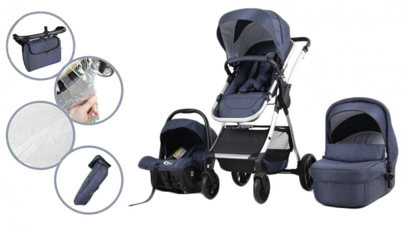 Vásárlás  Mama Kiddies CityKing Milano Babakocsi árak ... fb13a20262