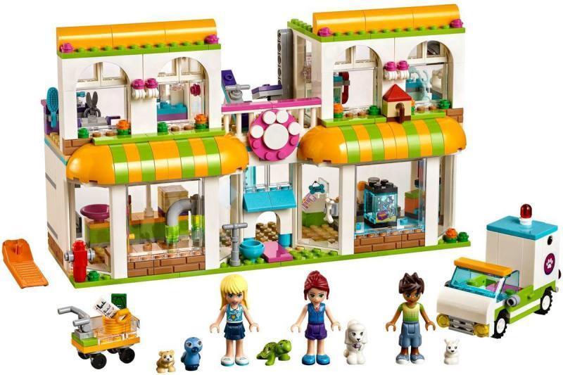 Vásárlás Lego Friends Heartlake City Kisállat Központ 41345