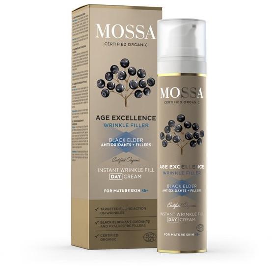 Vásárlás: MOSSA Instant ráncfeltöltő nappali krém érett..