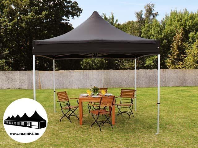 8f4d151bca1b Vásárlás: 3x3m összecsukható pavilon Fekete Premium (Premium) Kerti ...