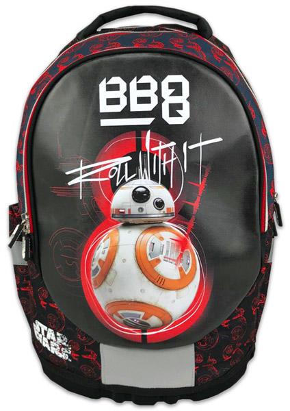 e0f7330b8758 Vásárlás: Eurocom Star Wars BB-8 ergonomikus iskolatáska, hátizsák ...