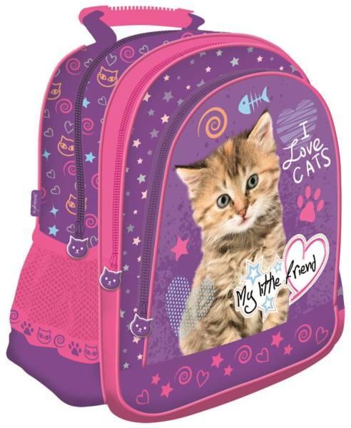 78bc87b0edfe St. Majewski My Little Friend I Love Cats - iskolatáska, hátizsák (241765)