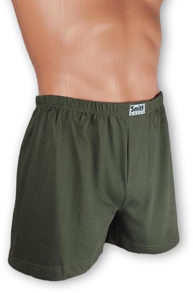 Vásárlás  SmithBoxer Zöld pamut alsónadrág Férfi alsó árak ... c22dd93f1a