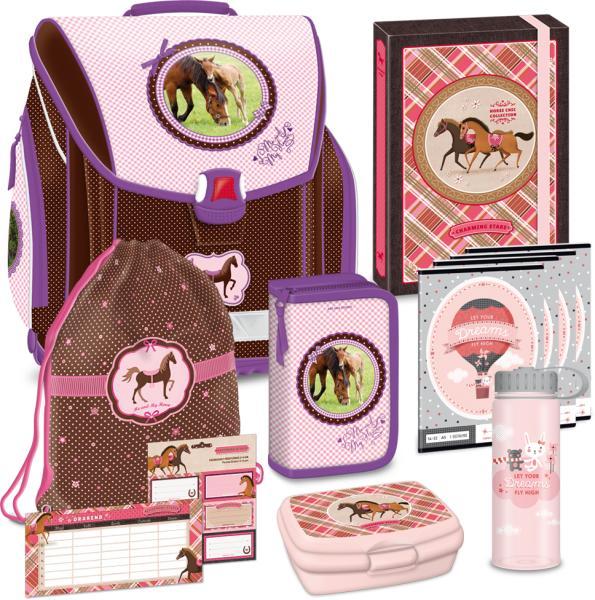 6e7b26ec4185 Vásárlás: Ars Una My Horse - lovas iskolatáska szett (90876783 ...