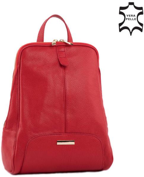 Vásárlás  Lewitzky Valódi bőr női hátizsák (NT 321 red) Női táska ... fbafcab7dd