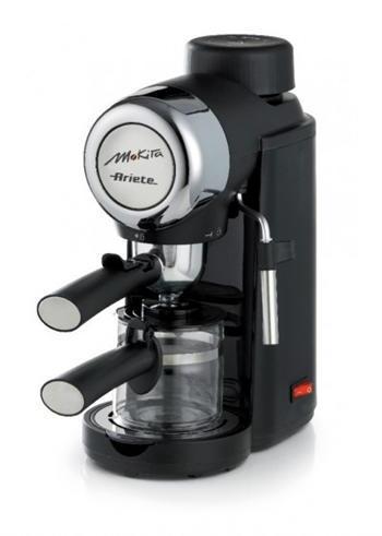 Kávéfőző, 800W, 4 bar nyomás, 4 csésze, fekete | Aspico Kft.