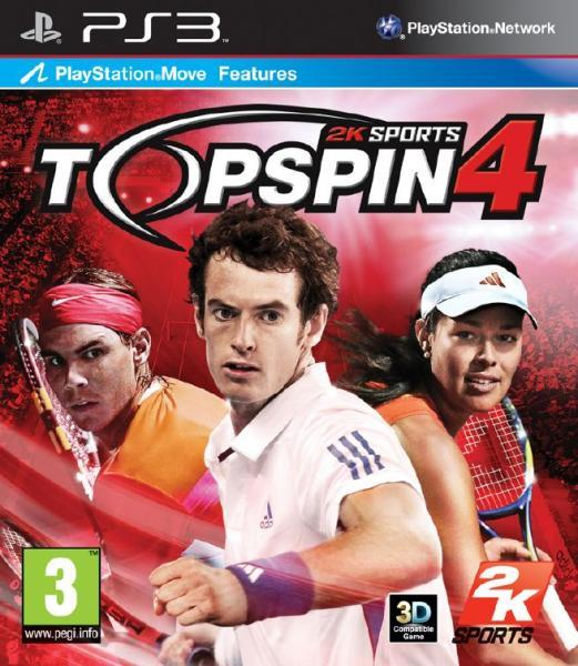 2K Games Top Spin 4. (PS3)