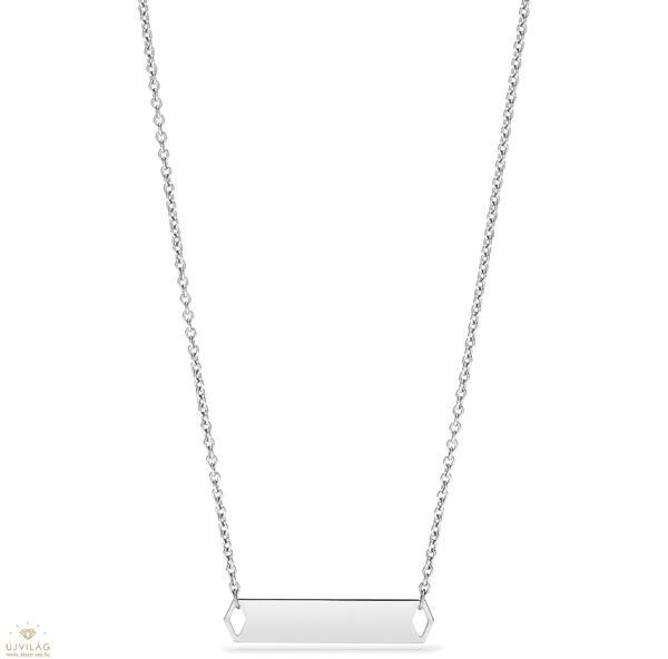 Vásárlás  Fossil gravírozható nyaklánc 47 cm - JF02923040 Nyaklánc ... b5712d1b7e