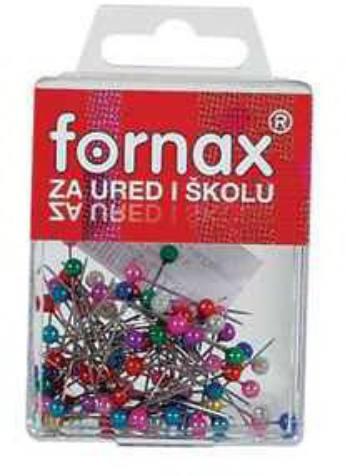 Vásárlás  Fornax Gombostű FORNAX színes fejjel műanyag dobozban ... 1987ca0e89