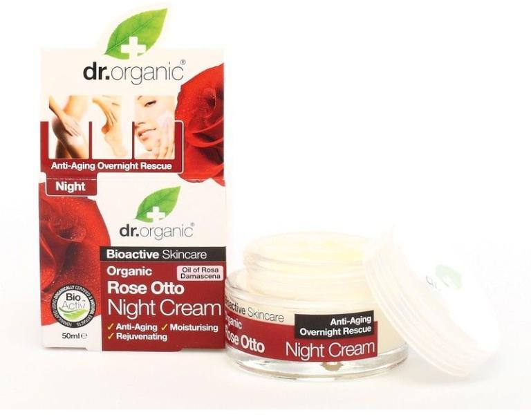 8f2d60eea2 Vásárlás: Dr. Organic Bio rózsa éjszakai krém 50ml Arckrém árak ...