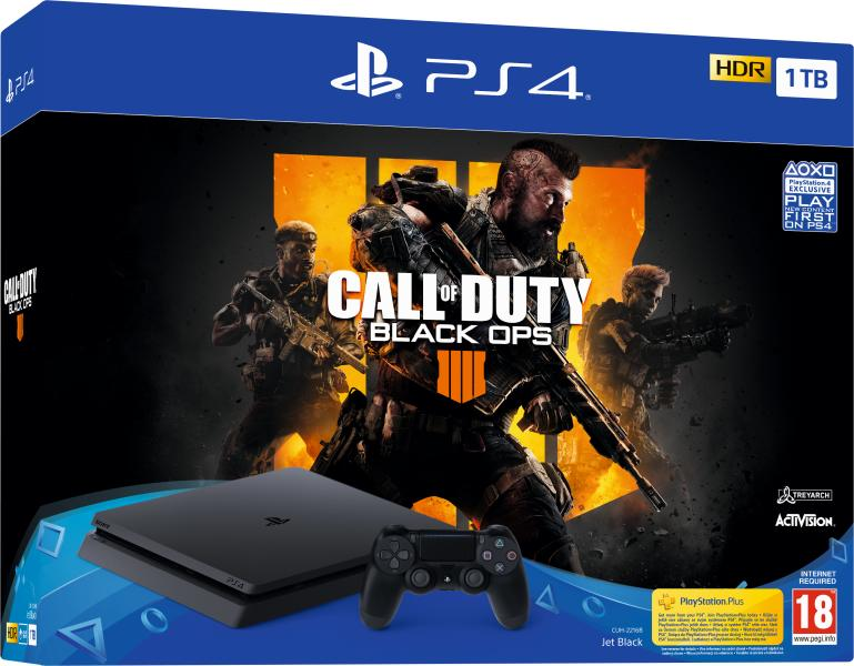 Sony PlayStation 4 Slim 1TB (PS4 Slim 1TB) + Call of Duty Black Ops 4  Játékkonzol 0e1bdc2159
